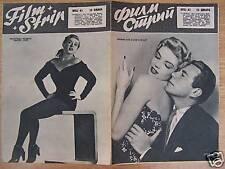 KATHLEEN HUGHES/J.FORSYTHE/DANIELLE GODET-YUGO MAG 1955