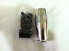 Chrome Polished Aluminum Grip Shift Gear Knob Manual Transmission M/T Universal