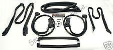 84-89 Corvette C4 Coupe Full Weatherstrip Kit BRAND NEW Set Weather Strip Seal