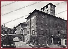 VARESE FAGNANO OLONA 05 CASTELLO Cartolina FOTOGRAFICA viaggiata 1958