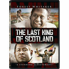 The Last King of Scotland (DVD, 2007, Widescreen; Gold O-Ring) Brand New
