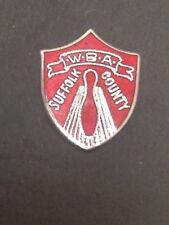 Vintage Women's Bowling WBA Suffolk County Award Lapel Hat Pin Tie Tac Tack