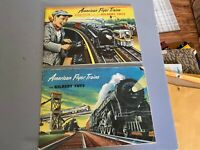 American Flyer Catalogs - Original 1952 and 1953 Catalogs in Nice Condition
