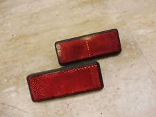 1984 Yamaha Venture XVZ12 XVZ12D Y673' rear red reflector set