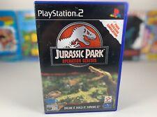 Jurassic Park Operation Genesis PS2 Playstation 2 Instruction Manual GC PAL