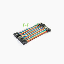 New 10cm 40p Female To Female Dupont Jumper Cable Wire For Arduino Pi GPIO Pic
