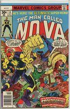 Nova 1976 series # 14 very fine comic book