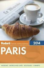 Fodor's Paris 2014 (Full-color Travel Guide)-ExLibrary