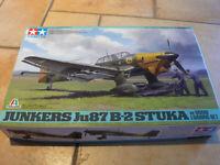 Tamiya 37008 Junkers Ju87 B-2 Stuka 1:48 NEU in OVP