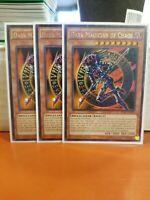 Yugioh 3x Dark Magician of Chaos - DPRP-EN013 - 1st Ed. - NM YuGiOh - Rare