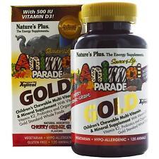 Children's Chewable Multi-Vitamin & Mineral Supplement - 120 Assorted Animals