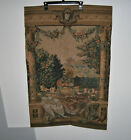 """Corona Decor Anticipation European Tapestry Wall Hanging 40"""" x 26"""" Excellent"""
