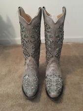 Corral Green Glitter A3321 Western Boots 8M