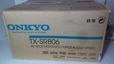 Onkyo TX-SR806 7.1 Channel 300W HDMI Home Theater Receiver