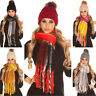 Sciarpa donna maxi invernale scarf colorata scialle con frange foulard trendy