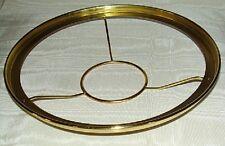 "10"" Brass shade holder ring Aladdin alladin oil lamp 3&1/8"" A, B, C, 23, 23a,etc"