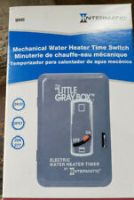 "NEW Intermatic Mechanical Electric Water Heater Timer 250v WH40 ""Little Gray Box"