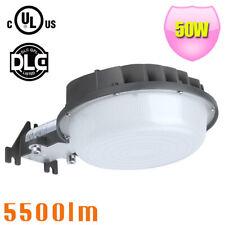 cUL DLC LED Dusk to Dawn Barn Light 50Watt replace 250W Security metal halide