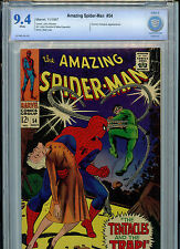 Amazing Spider-man #54 Silver Age Marvel Comics CBCS 9.4 NM 1966