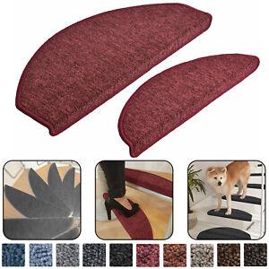 Stufenmatten 15er Set Treppenmatten Treppenteppich Stufenmatte Treppenschutz