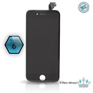 Ersatz LCD für iPhone 6 Display SCHWARZ Retina Glas Bildschirm TouchScreen