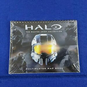 HALO THE MASTER CHIEF COLLECTION Multiplayer Map Book ONLY *NEW & SEALED*