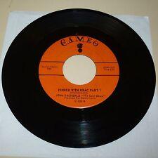 NOVELTY 45 RPM RECORD - JOHN ZACHERLE - CAMEO 130