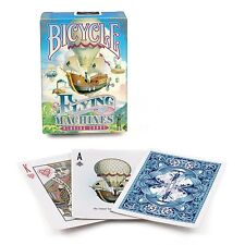 2 Decks Bicycle Flying Machines Standard Poker Playing Cards Brand New Decks
