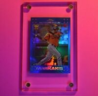 2007 Topps Chrome BLUE REFRACTOR #57 Nick Markakis All-Star ROOKIE Cup MINT