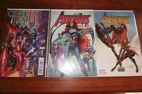Avengers #1 Comic Xposure Gold #1 Mary Jane Campbell VARIANT Civil War Midtown