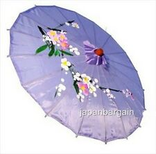 Set of 4 Japanese Chinese Oriental Umbrella Parasol 22-inch Lavender S-2198