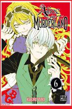 ALICE IN MURDERLAND 6 06 Sept 2017 Manga Pika Shojo YUKI Kaori # NEUF #