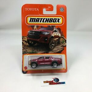 Toyota Hilux Pickup * Burgundy * 2021 Matchbox Case W * G34