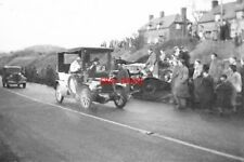 PHOTO  1950 PYECOMBE SUSSEX OLD CROCKS RUN A VEHICLE TAKING PART IN THE ANNUAL L