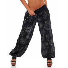 Womens Ali Baba Harem Trousers Yoga Baggy Aladdin Hippy Palazzo Pants Plus Size