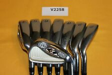 TaylorMade RAC r7 CGB MAX 3-PW Irons Regular Graphite 8 Club Set V2258 EXCELLENT