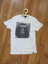 Used Sold-out Createur T-shirt underage by Poyz & Pirlz, Size L, White