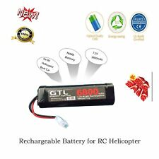 6800mAh 7.2V NiMh Battery Rechargeable Battery for RC Helicopter Boat Car XJ