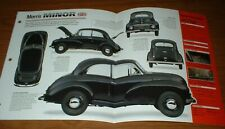 1949 MORRIS MINOR MM ORIGINAL IMP BROCHURE SPECS INFO 49 48 50 51 52 53 54 55-71