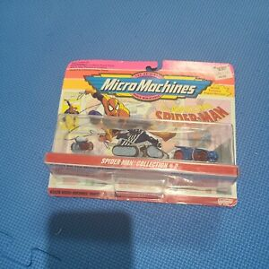 Micro Machines SPIDER-MAN COLLECTION #2  Galoob NEW in Package 1993