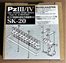 MODELKASTEN SK-20 - PzIII/IV (TYPE A) - CINGOLI/TRACKS - 1/35 PLASTIC KIT