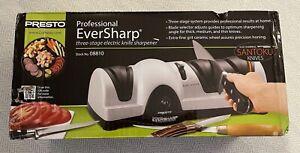 Presto 08810 Professional Eversharp Electric Knife Sharpener NIB