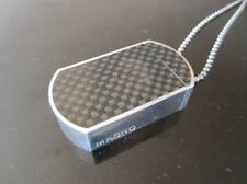 Carbon Fiber inlay MagTag / Dogtag pill box aircraft grade aluminum. Made in USA