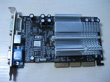 nVidia GeForce FX 5200 AGP 128MB DDR VGA/DVI/TV-Out Graphics video card TEST OK!