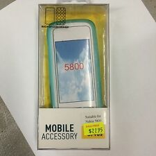 Nokia 5800 TPU Jelly Case Cover in Blue JCNOK5800BLU Brand New in Original pack.