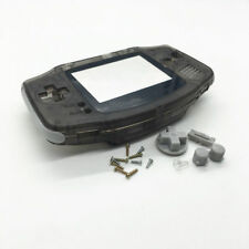 Full Housing Shell Button Kits for Gameboy Advance GBA Repair Parts Clear Black