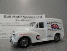 Lledo  Morris Minor Van  BUTT MOTIF SPARES LTD.  Code Three!