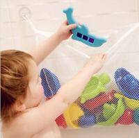 Kids Baby Bath Tub Toy Tidy Storage Suction Cup Bag Mesh Bathroom Organiser Net