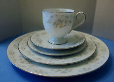 NORITAKE PATIENCE 2964  5 PIECE PLACE SETTING DISCONTINUED 1981-1991