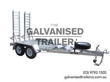 10x6 Plant Trailer Mini Excavator/Bobcat Trailer Galvanised With 3.5T GVM
